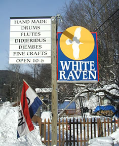 White Raven Drum Works Gallery